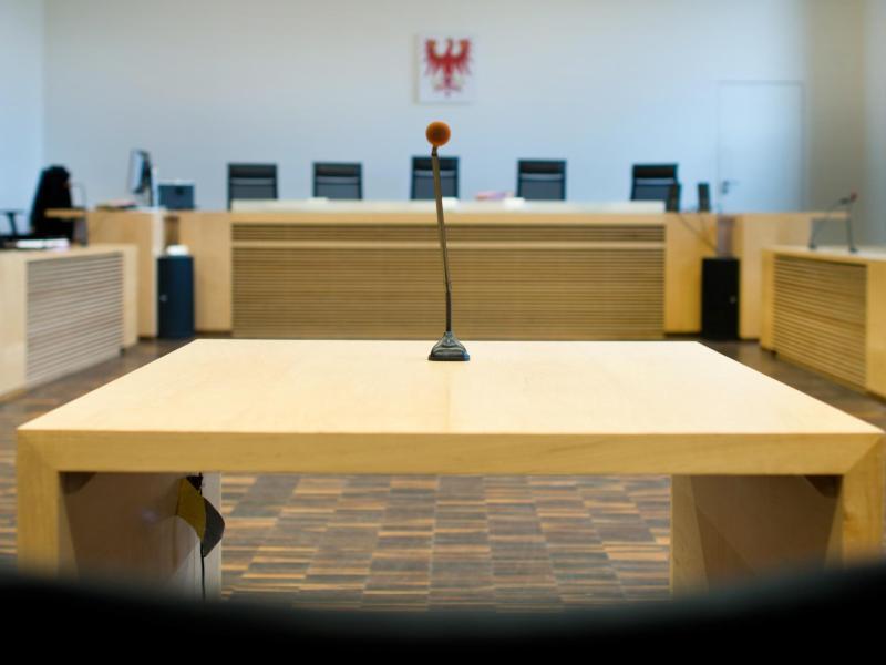 Bild zu Verhandlungssaal im Gericht