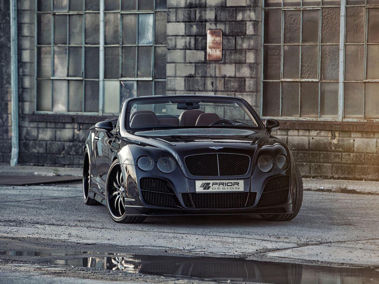 Bild zu Für den Bentley Continental GT steht ein umfassendes Body-Kit bereit