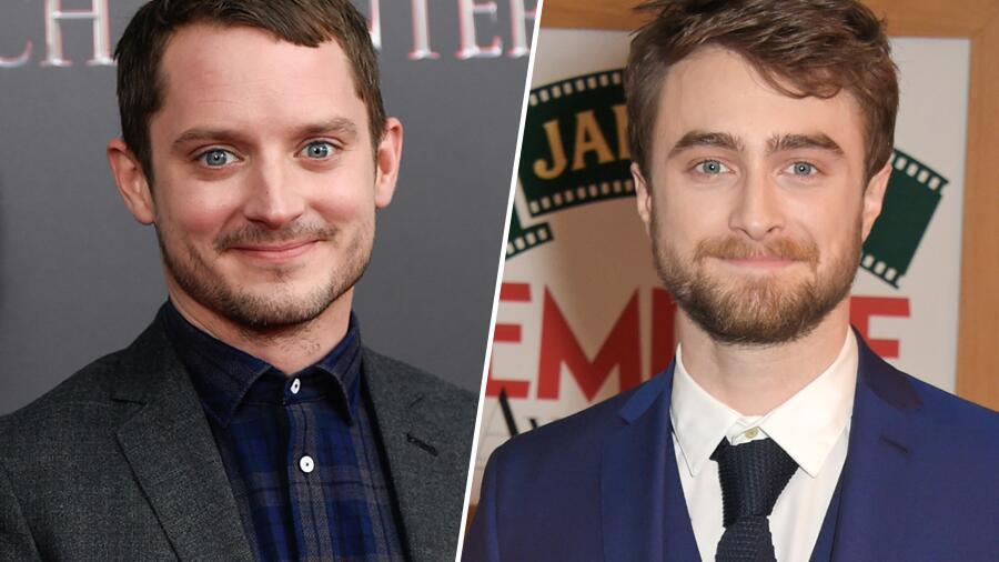 Elijah Wood und Daniel Radcliffe sehen aus wie Zwillinge
