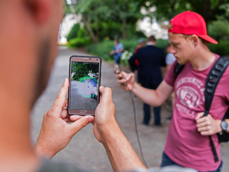 Bild zu «Pokémon Go»