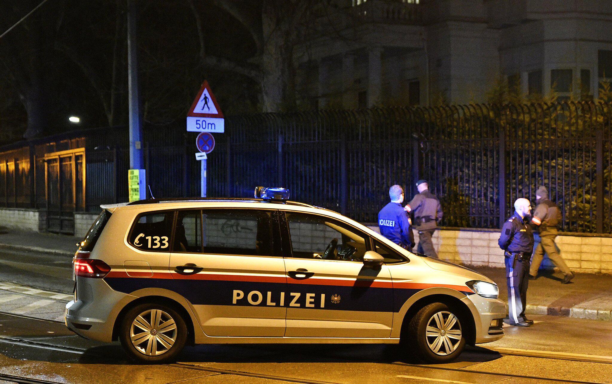 Bild zu Messer-Angreifer vor iranischer Botschaft in Wien erschossen