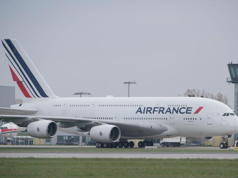 Bild zu Flugzeug von Air France