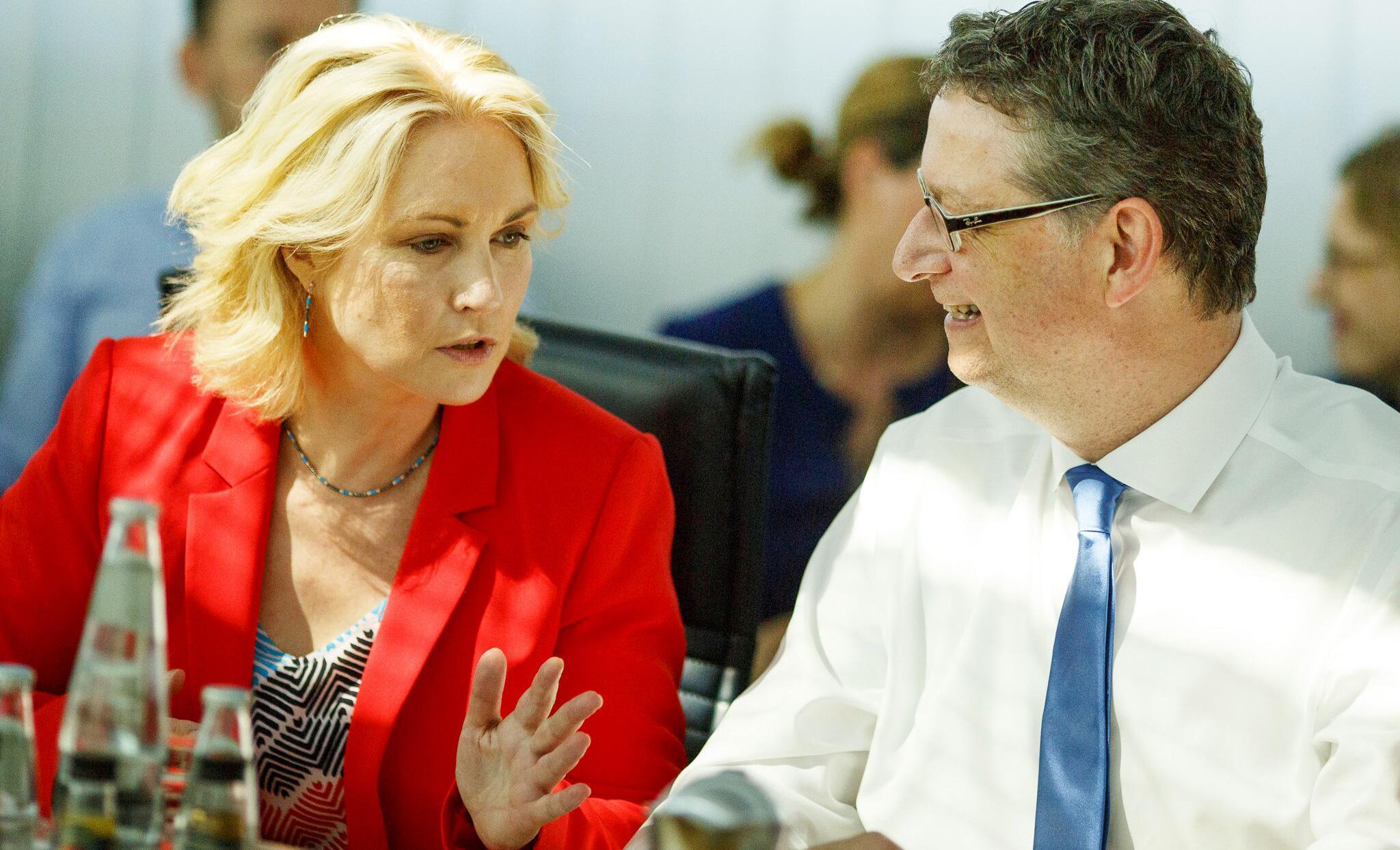 Bild zu Vorstandssitzung SPD