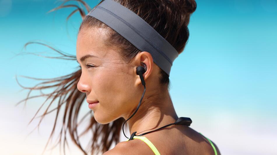 Sport, Kopffhörer, Sportkopfhörer, Fitness, Musik, Audio, Training, Outdoor