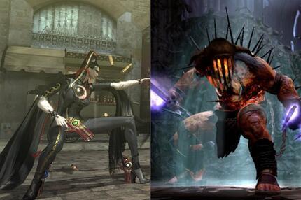 Bayonetta und Hades