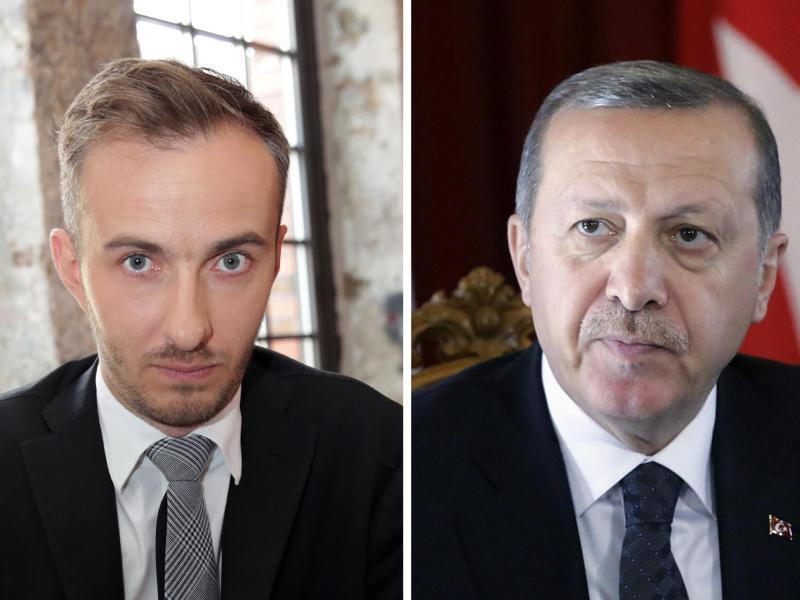 Bild zu Böhmermann und Erdogan
