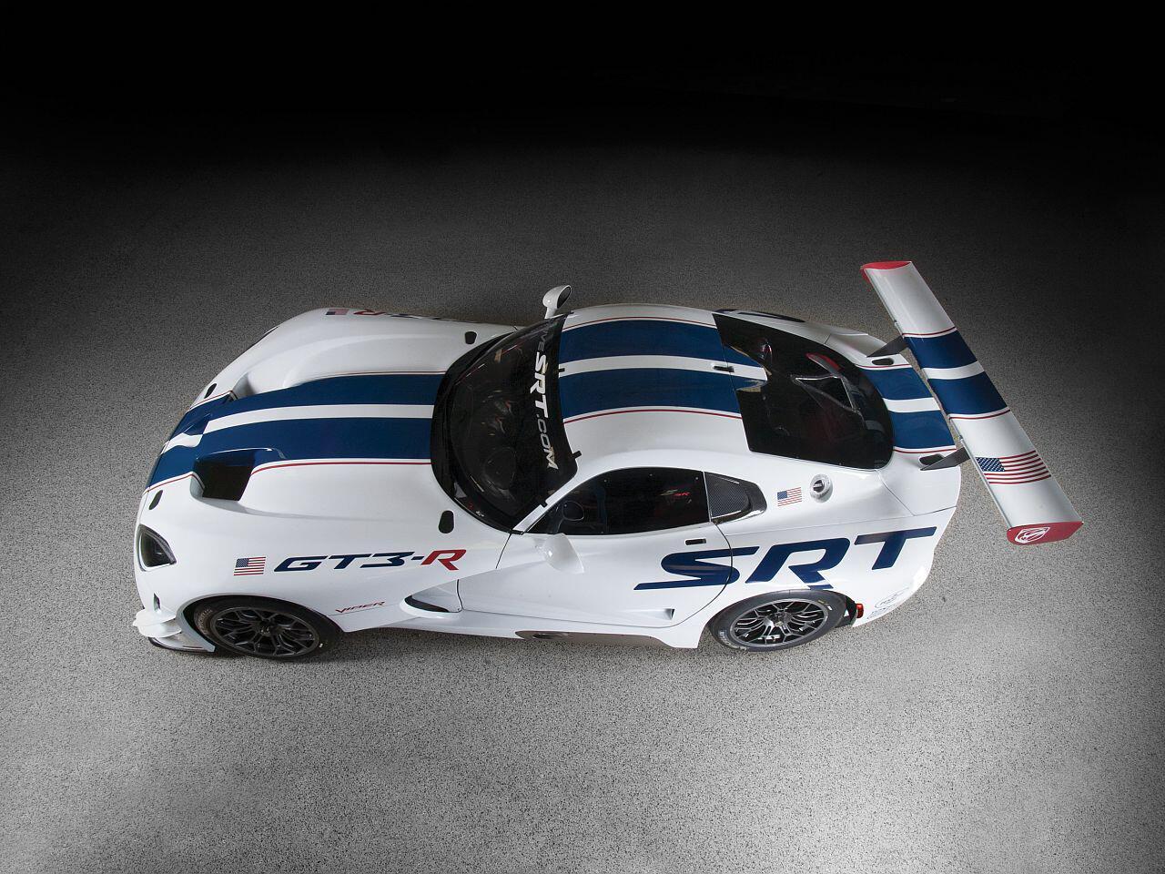 Bild zu Die SRT Viper GT3-R will der Konkurrenz das neuerliche Fürchten lehren