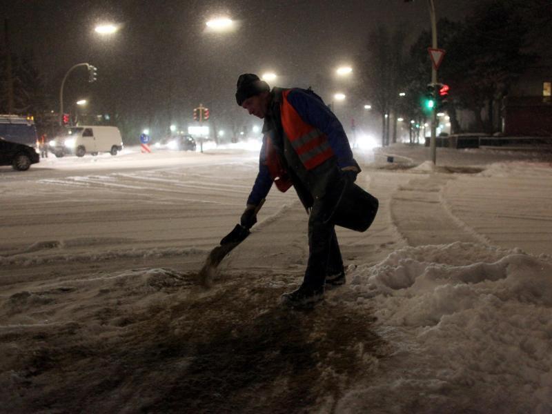 Bild zu Arbeit im Winter