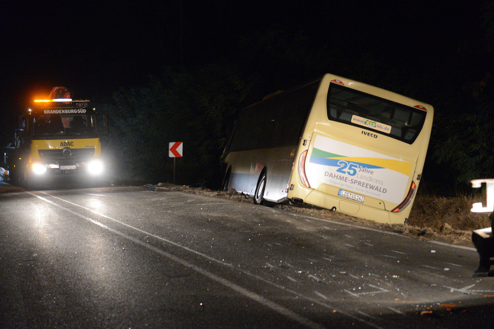 Bild zu Unfall mit Linienbus in Brandenburg