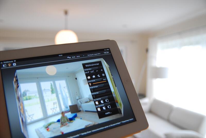 """Bild zu """"Smart Home"""": Steuerung vom iPad aus"""