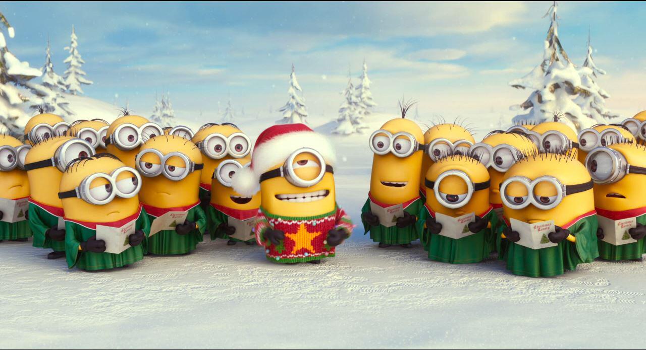 Bild zu Christmas Clip zu MINIONS