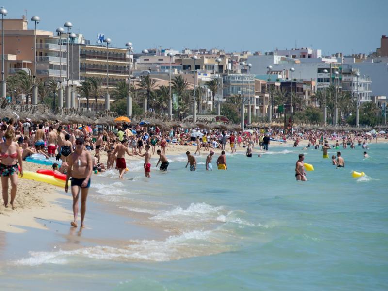 Bild zu Touristen auf Mallorca