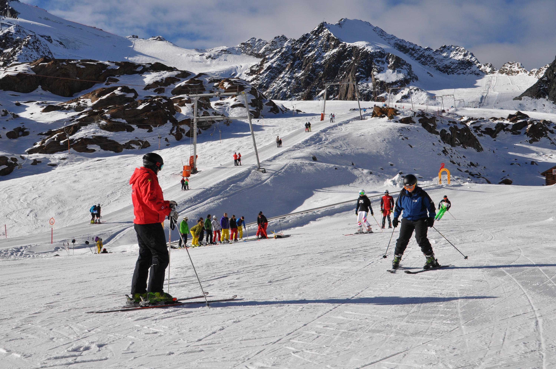 Bild zu Ski, Einstieg