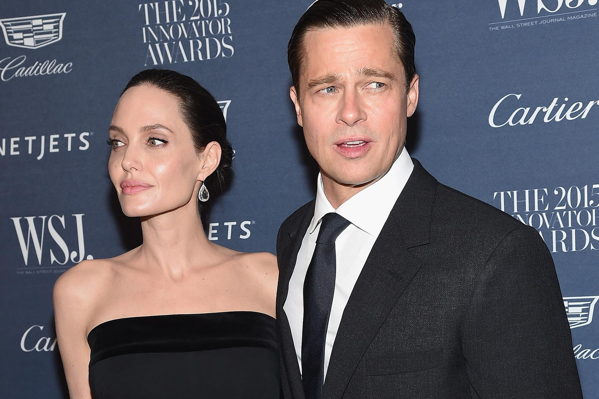 Bild zu Brad Pitt, Angelina Jolie