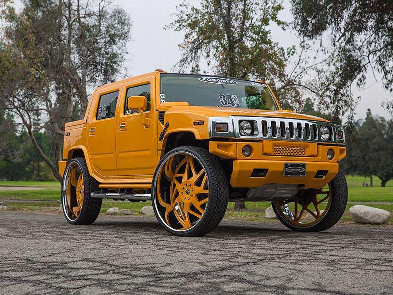 Bild zu Hummer H2 mit Forgiato Wheels