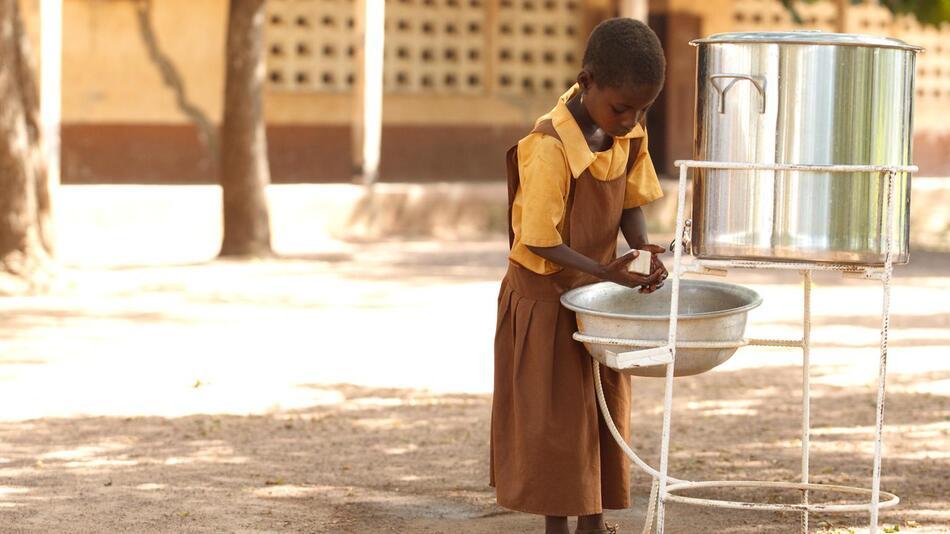 Händewaschen, UNICEF