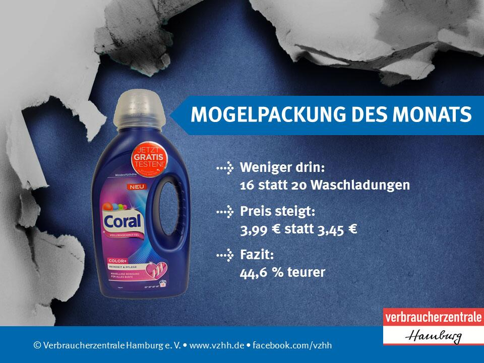 Bild zu Coral Vollwaschmittel