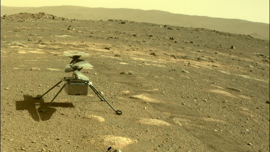 Mars - Hubschrauber «Ingenuity»