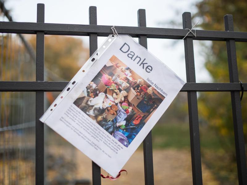 Bild zu «Danke liebe Nachbarn»