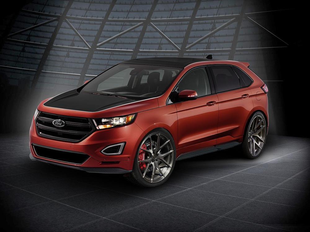 Bild zu Ford Edge auf der SEMA
