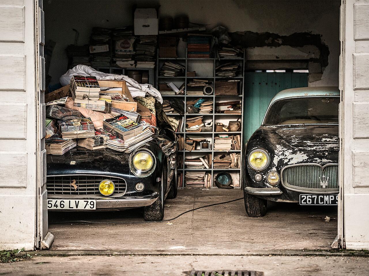 Bild zu Ferarri- und Maserati-Oldtimer
