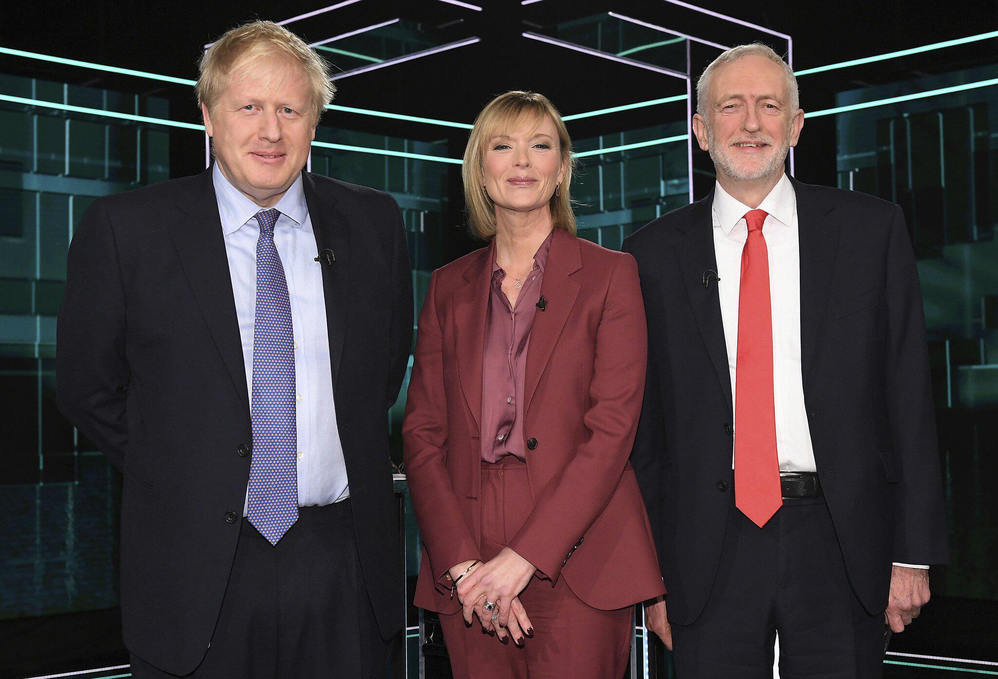 Bild zu TV-Duell im Wahlkampf in Großbritannien