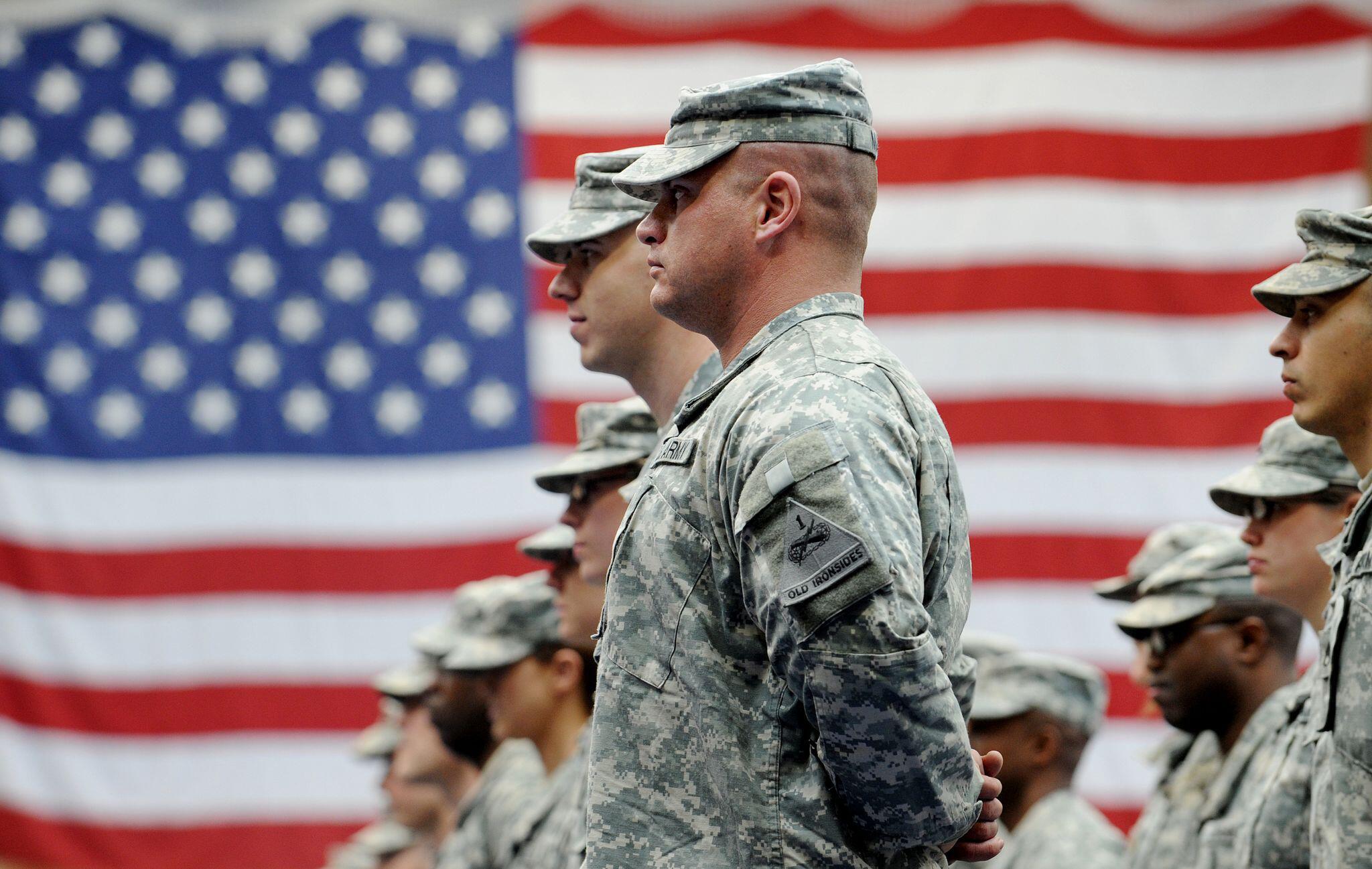 Bild zu Teilabzug von US-Truppen aus Deutschland