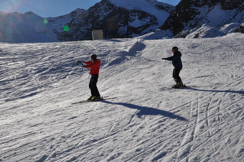 Bild zu Piste, Ski