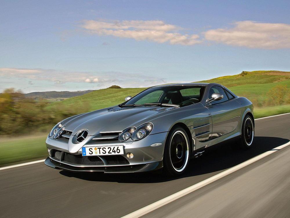 Bild zu Platz 5: Mercedes-Benz SLR