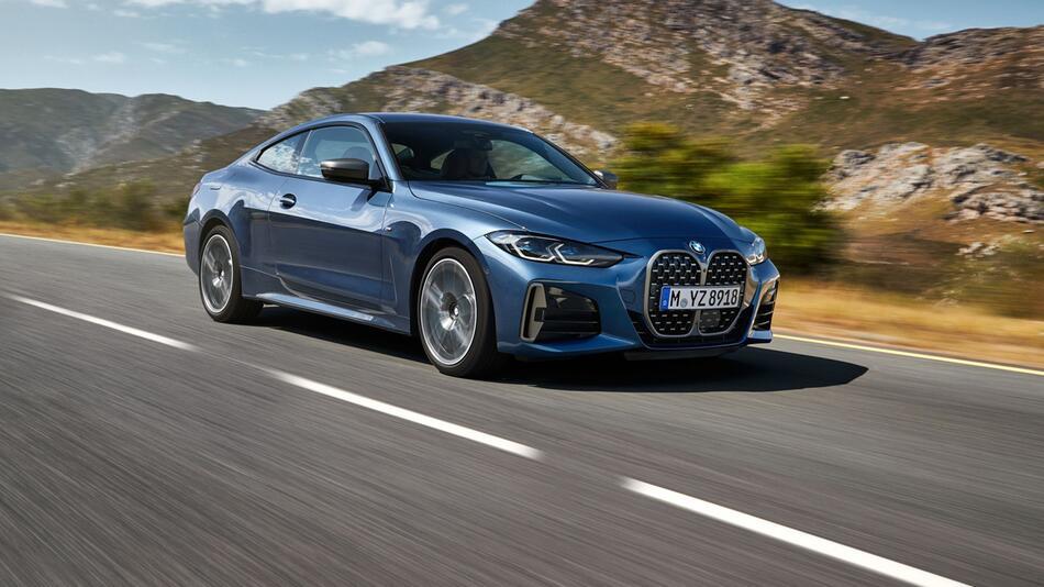 Ab 45 800 Euro: Neuer BMW 4er startet im Oktober