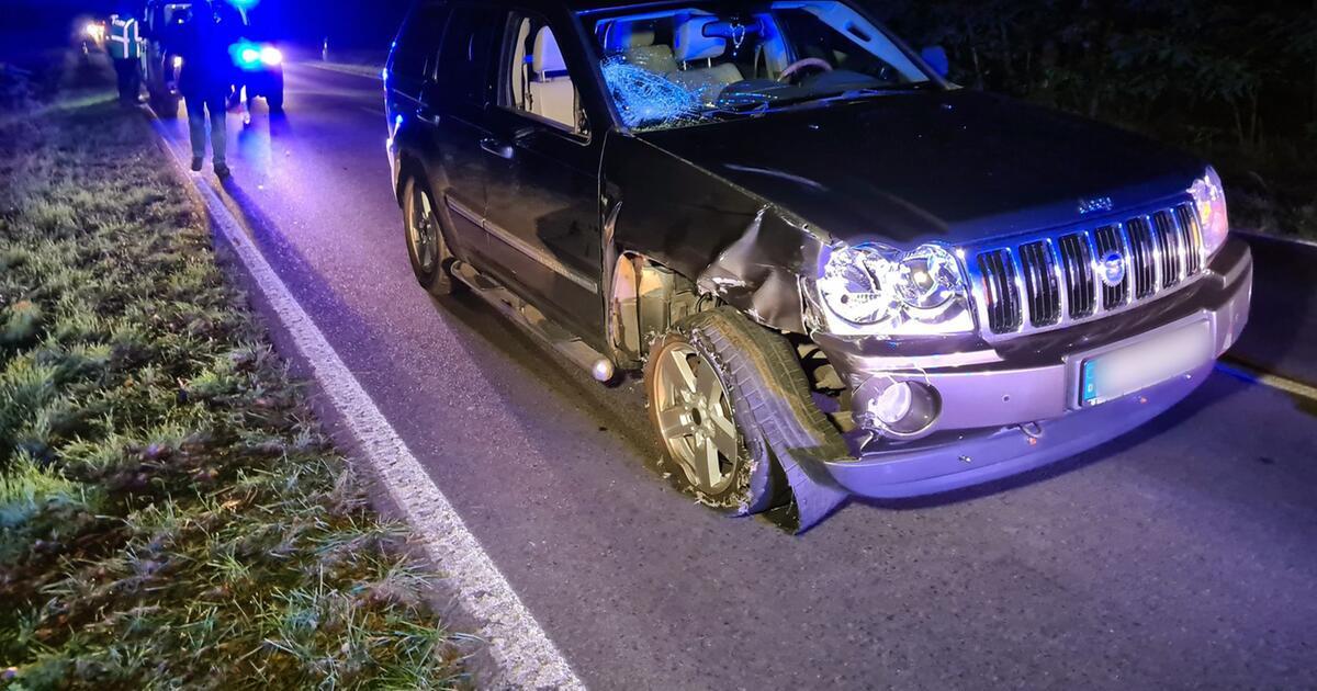 Radfahrer stirbt nach Zusammenstoß auf Landstraße - Unfallflucht?