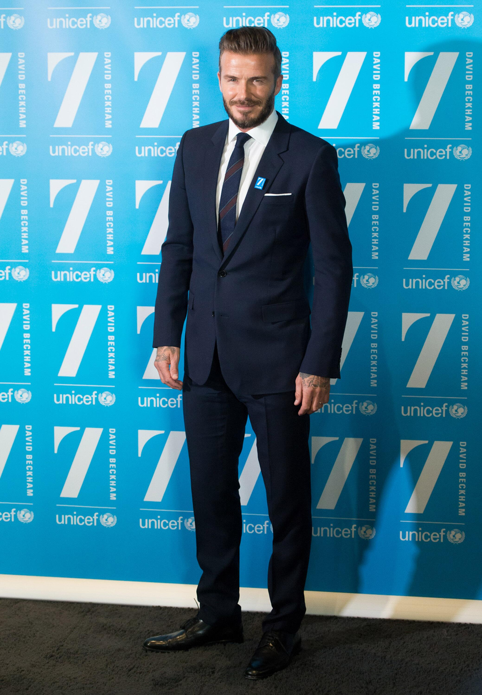 Bild zu David Beckham, UNICEF