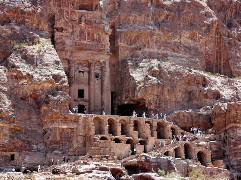 Bild zu UNESCO Kulturerbe «Petra»
