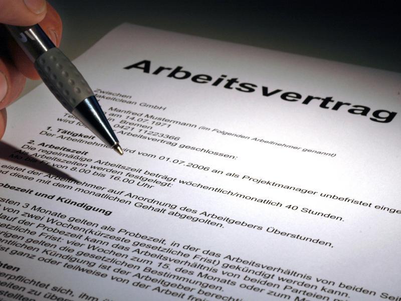 Bild zu Befristeter Arbeitsvertrag