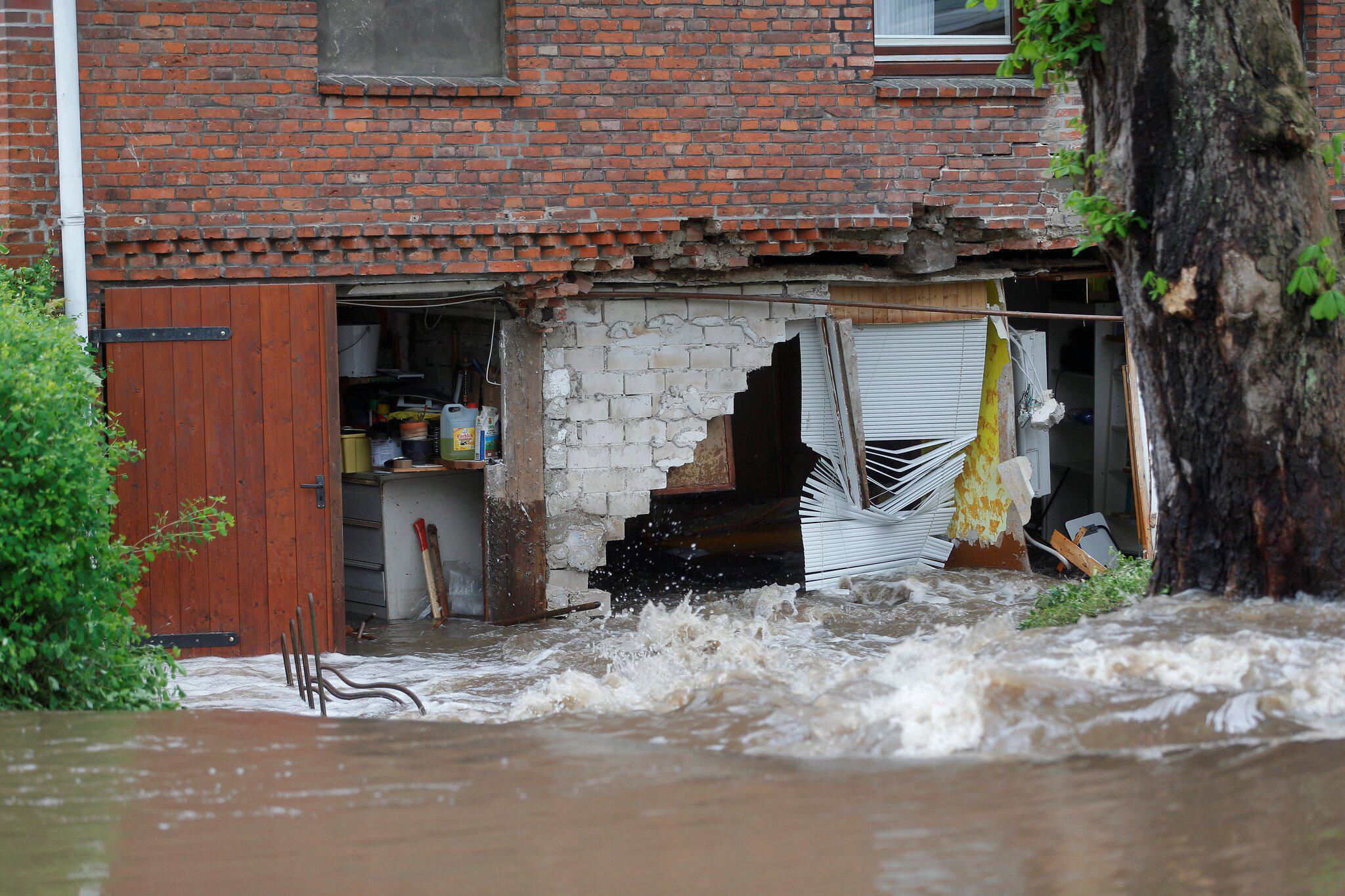 Bild zu Unwetter in Schleswig-Holstein
