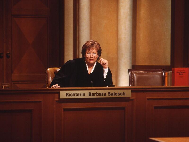 """Bild zu """"Richterin Barbara Salesch"""""""