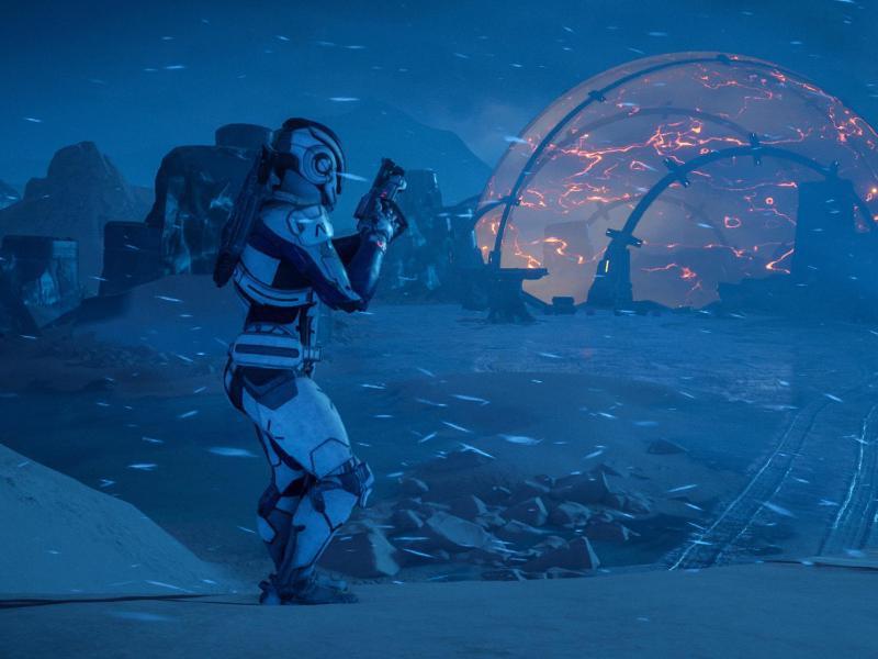 Bild zu Action auf neuem Planeten
