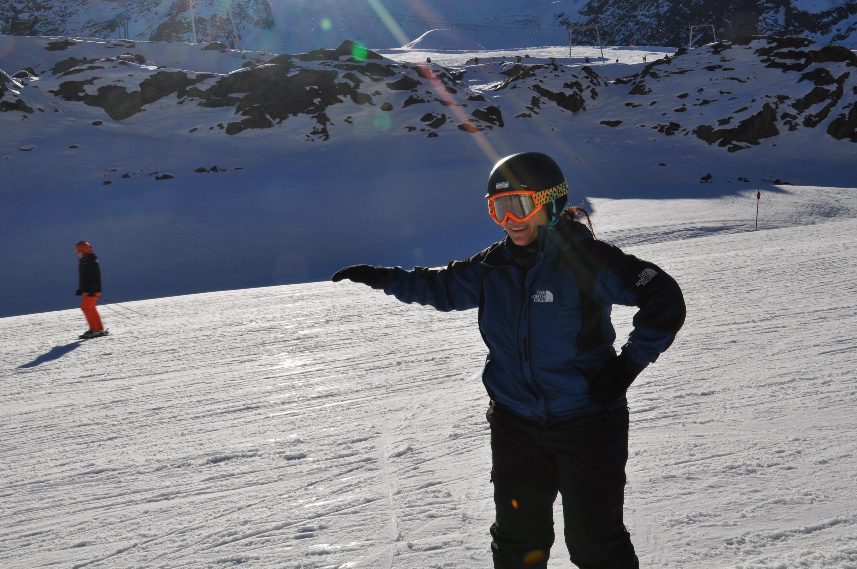Bild zu blaue Piste, Ski