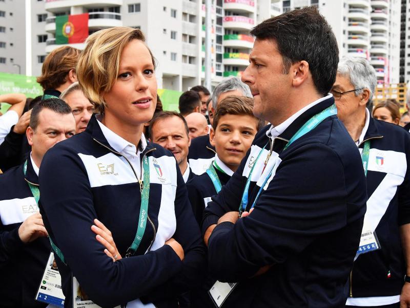 Bild zu Rio 2016 - Matteo Renzi