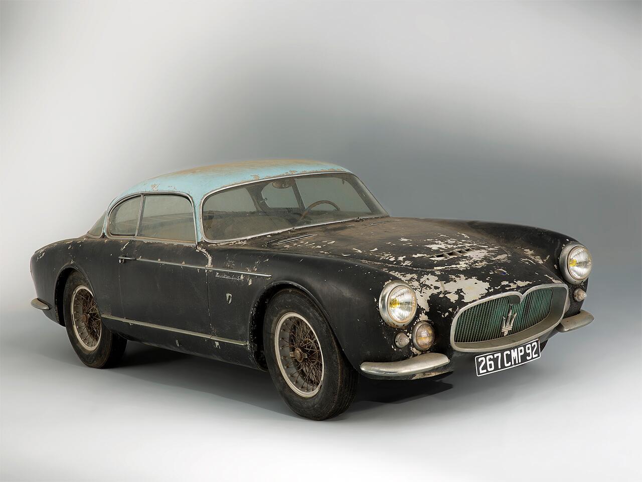 Bild zu 1956 Maserati A6G Gran Sport Frua