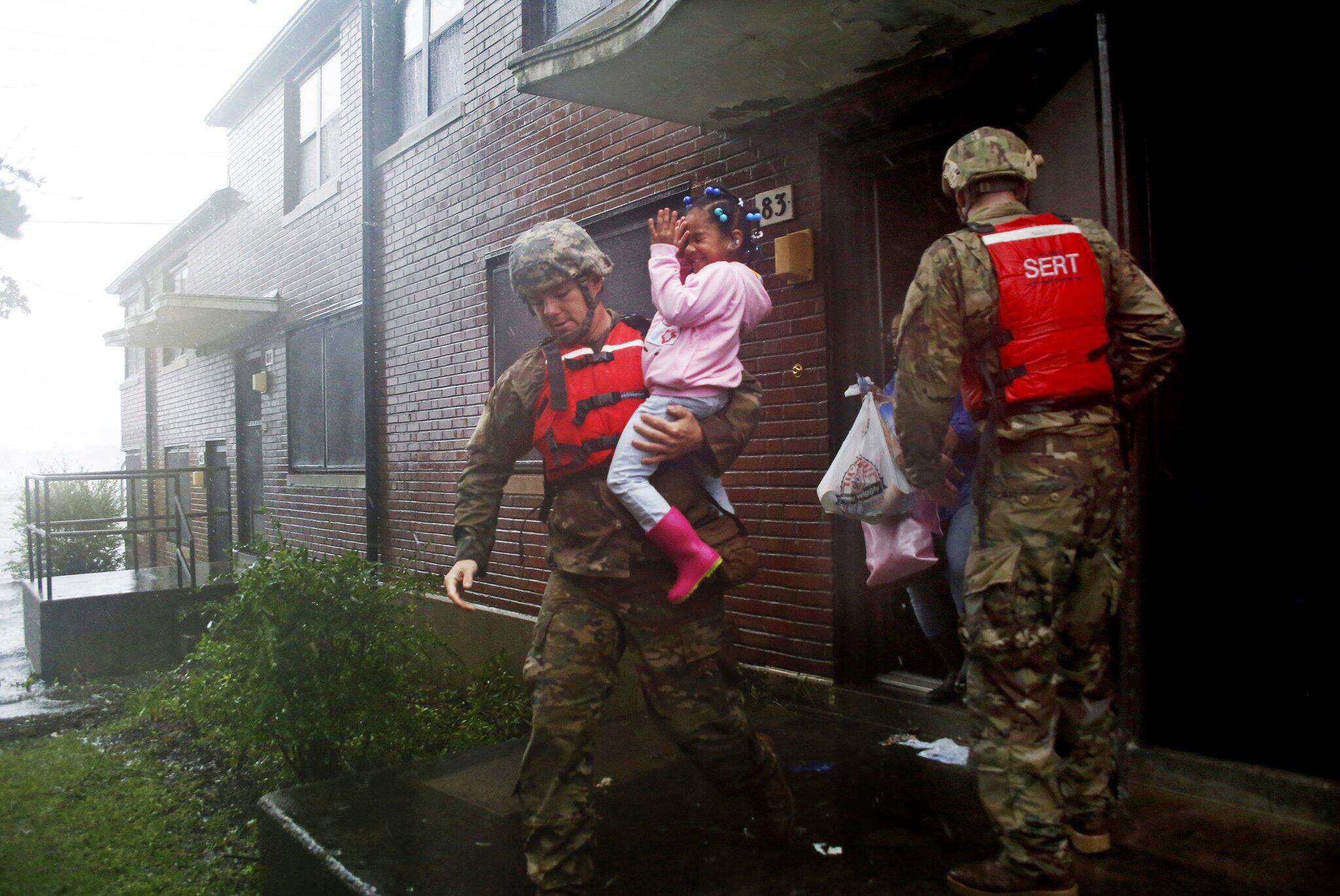 Bild zu Hurrikan «Florence»