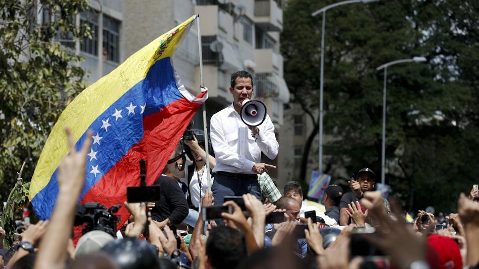 Großdemonstration in Venezuela