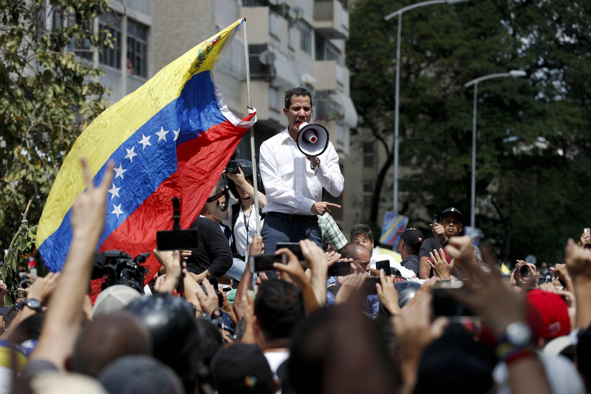 Bild zu Großdemonstration in Venezuela