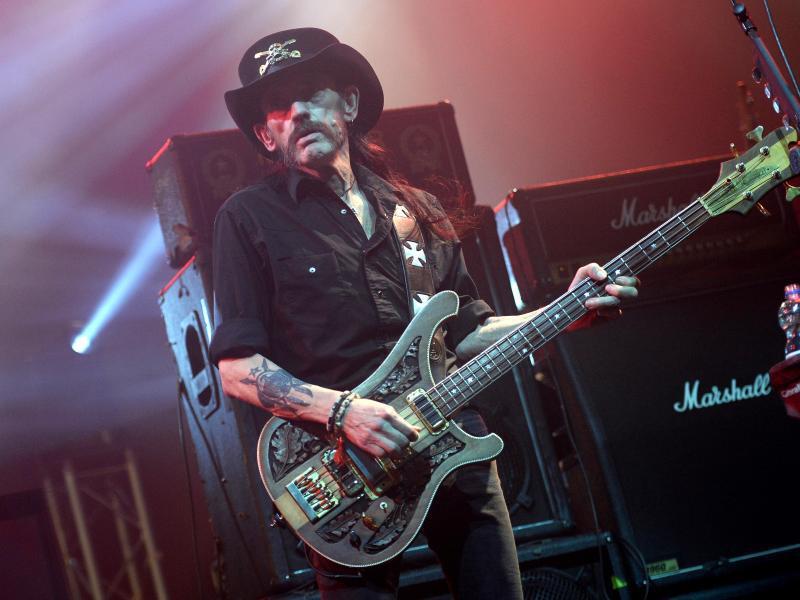 Bild zu Lemmy Kilmister gestorben
