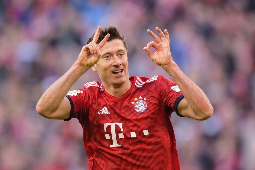 FC Bayern - Stürmer Robert Lewandowski