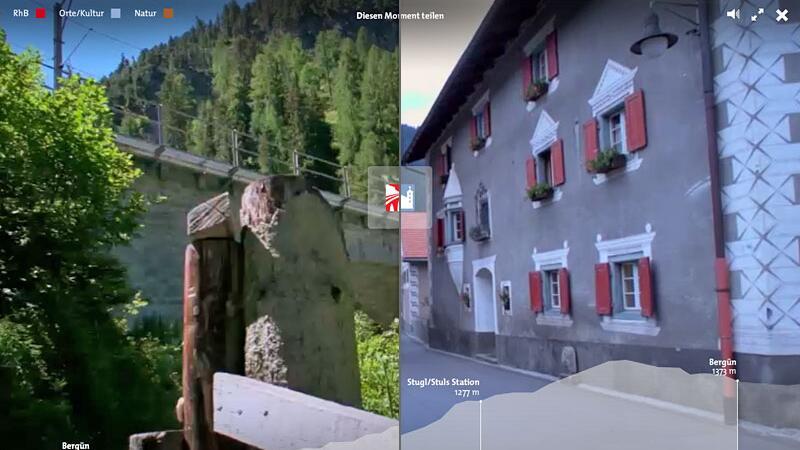 Mit Webwandern.ch durch Graubünden
