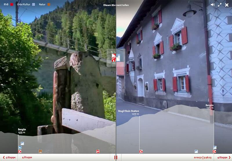 Bild zu Mit Webwandern.ch durch Graubünden