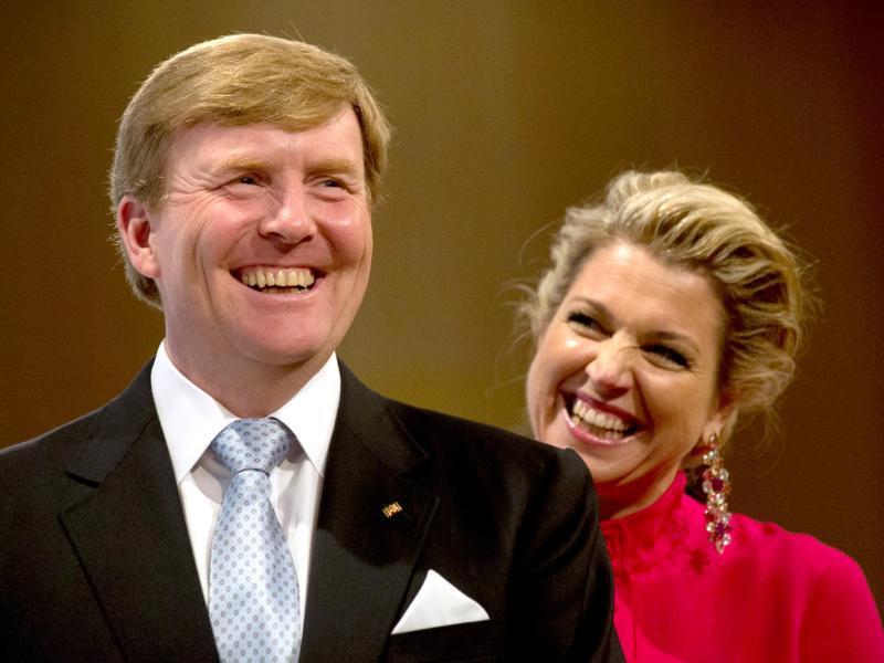 Bild zu König Willem-Alexander + Königin Máxima der Niederlande