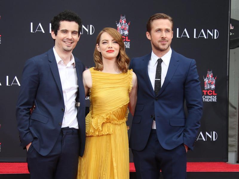 Bild zu Emma Stone + Ryan Gosling