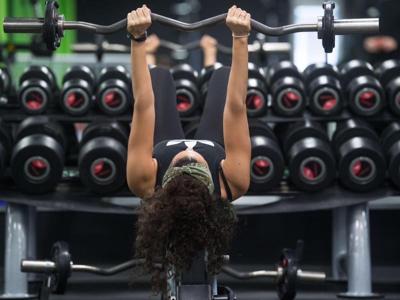 Bild zu Im Fitnessstudio
